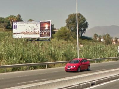 Valla publicitaria de 8x3 m en Manilva, Málaga