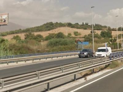 Monoposte publicitario de 10.4x5 m en Estepona, Málaga