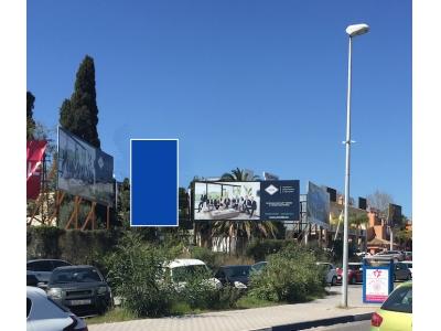 Valla publicitaria de 5.6x6 m en Marbella, Málaga
