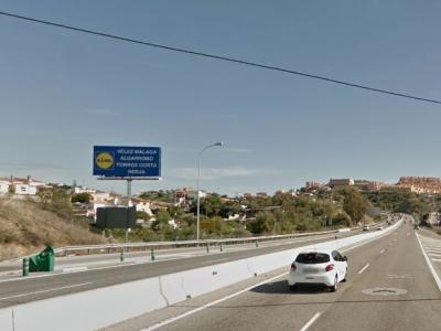 Monoposte publicitario de 10.4x5 m en Rincón de la Victoria, Málaga