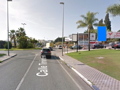 Valla publicitaria de 4x6 m en Marbella, Málaga