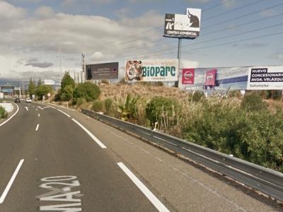 Valla publicitaria de 18x6 m en Málaga, Málaga