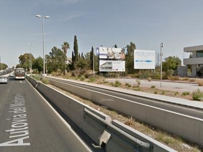 Valla publicitaria de 8x6 m en Marbella, Málaga