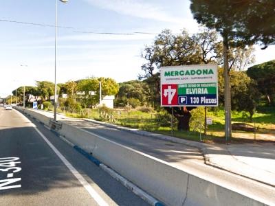 Valla publicitaria de 4x3 m en Marbella, Málaga