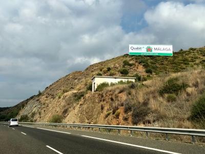 Valla publicitaria de 24x6 m en Marbella, Málaga