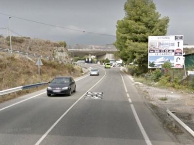 Valla publicitaria de 6.4x3 m en San Pedro de Alcántara, Málaga