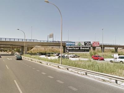Valla publicitaria de 16x4 m en Málaga, Málaga