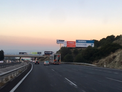 Valla publicitaria de 10.4x5 m en Fuengirola, Málaga