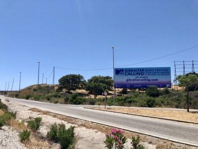 Valla publicitaria de 16x6 m en Sotogrande, Cádiz