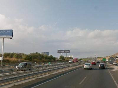 Monoposte publicitario de 12x5 m en Torremolinos, Málaga