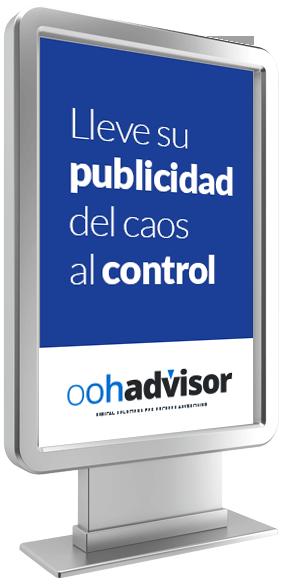 Lleve su publicidad del caos al control con oohadvisor